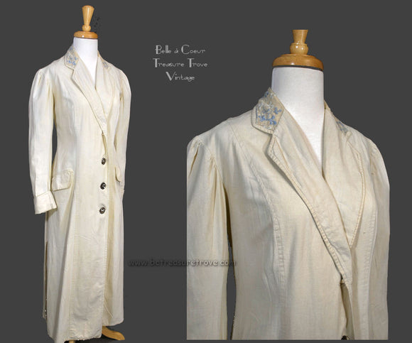 Antique Womens Duster Coat