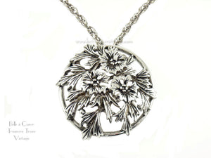 Judy Lee Vintage Convertible Brooch Pendant Necklace FEATURED 51003