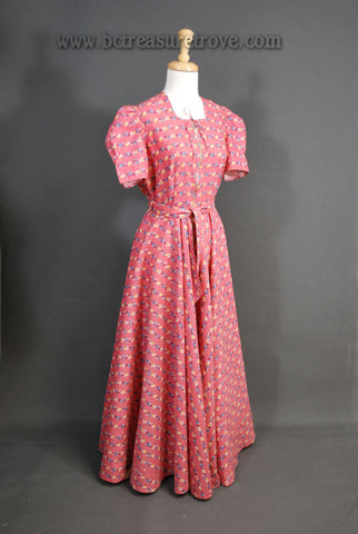 Vintage 1930s Hostess Gown