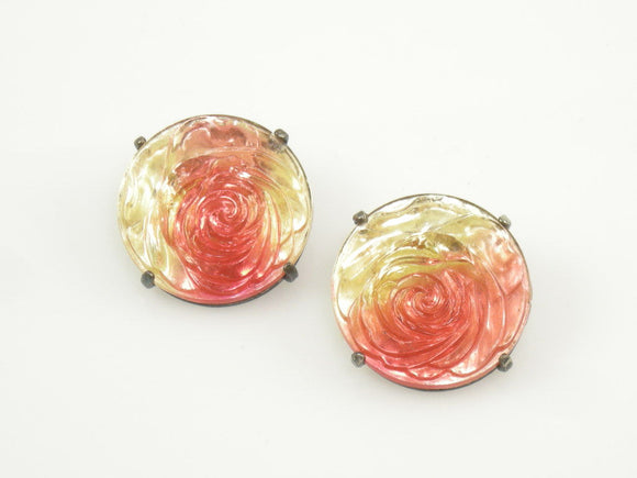 Schiaparelli Rose Earrings