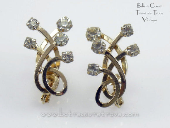Vintage Emmons Earrings 1960s