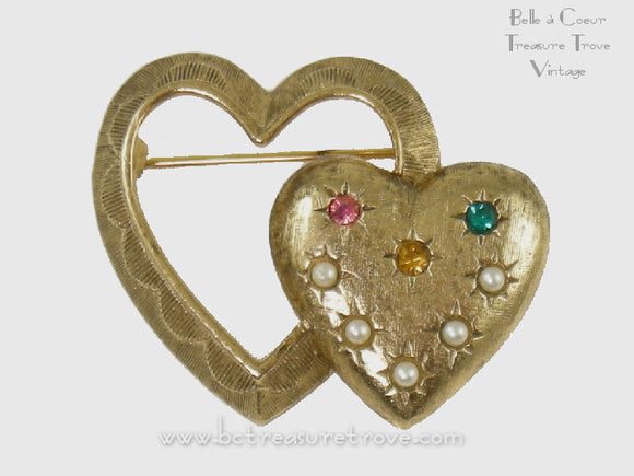 Vintage Mother's Pin Caroline Emmons