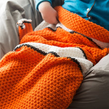 """Keep the Heat Down"" Fish-Style Blanket Bag for Kids!"