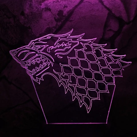 Game of Thrones Stark Wolf