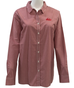 Port Authority Ladies Broadcloth Gingham Easy Care Shirt