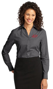 Port Authority® - Ladies Crosshatch Easy Care Shirt
