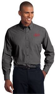 Port Authority® - Men's Crosshatch Easy Care Shirt