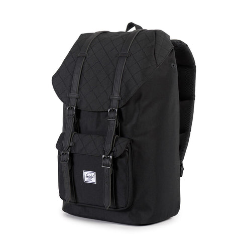 Herschel Supply Little America Backpack - Black Quilted