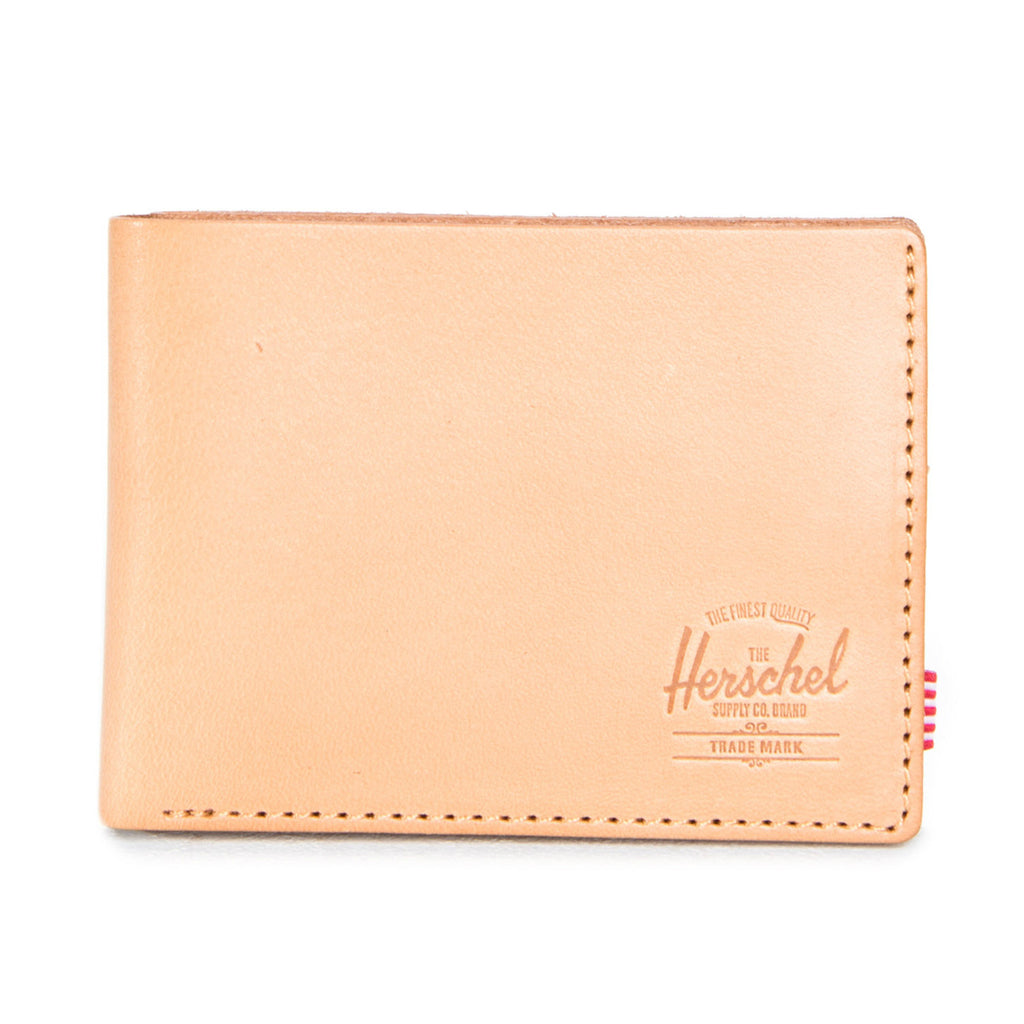Herschel Supply Miles Wallet - Premium Leather Natural