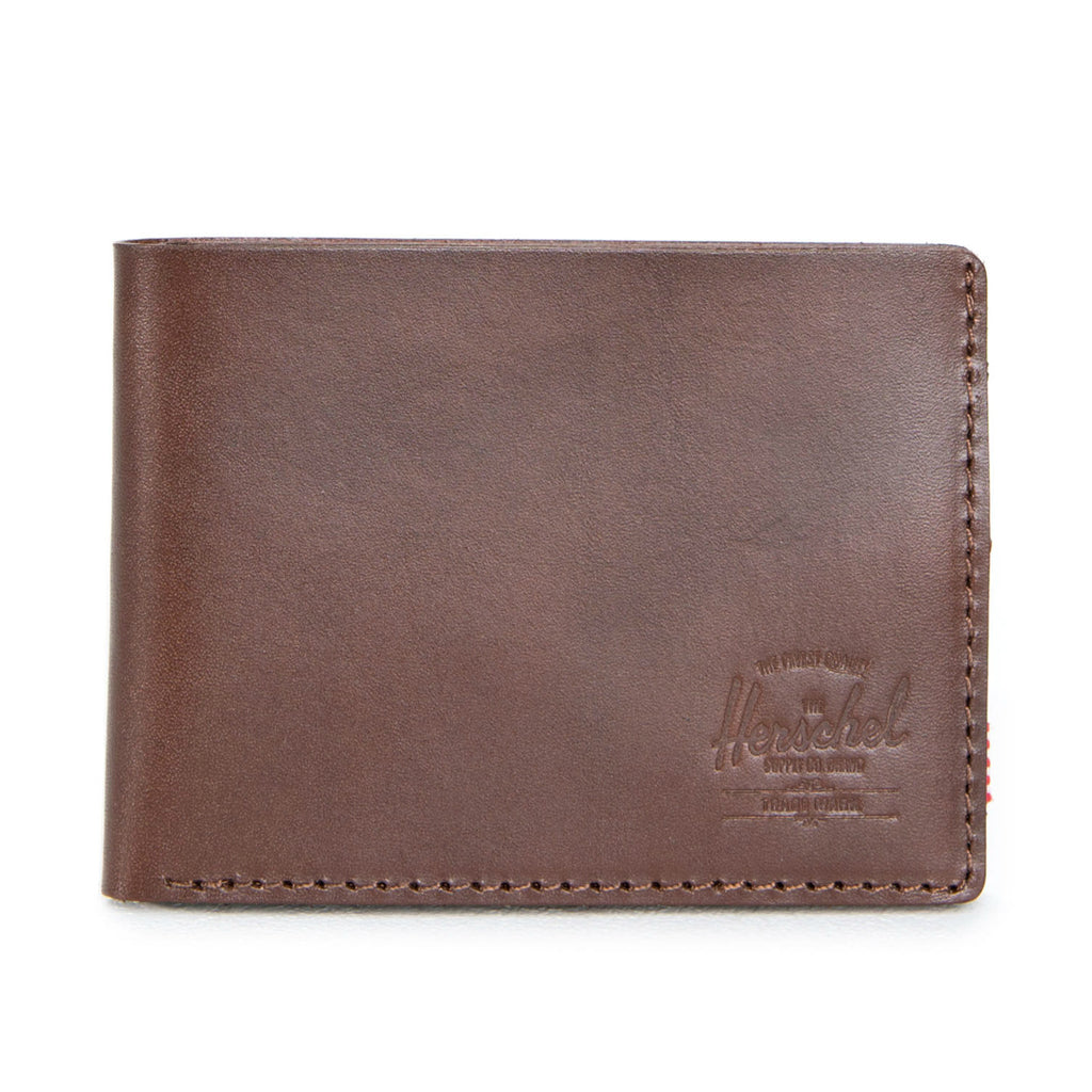Herschel Supply Miles Wallet - Premium Leather Saddle Brown