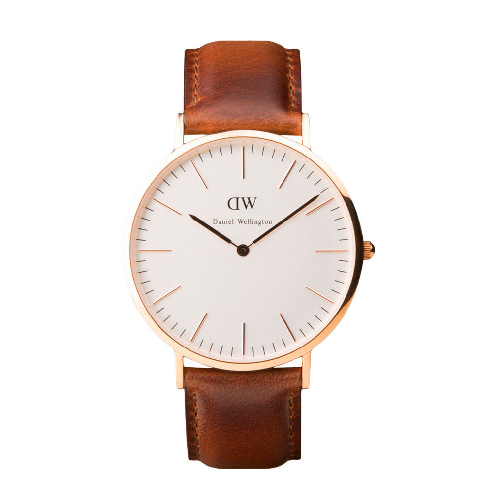 Daniel Wellington St. Andrews Watch - Rose Gold