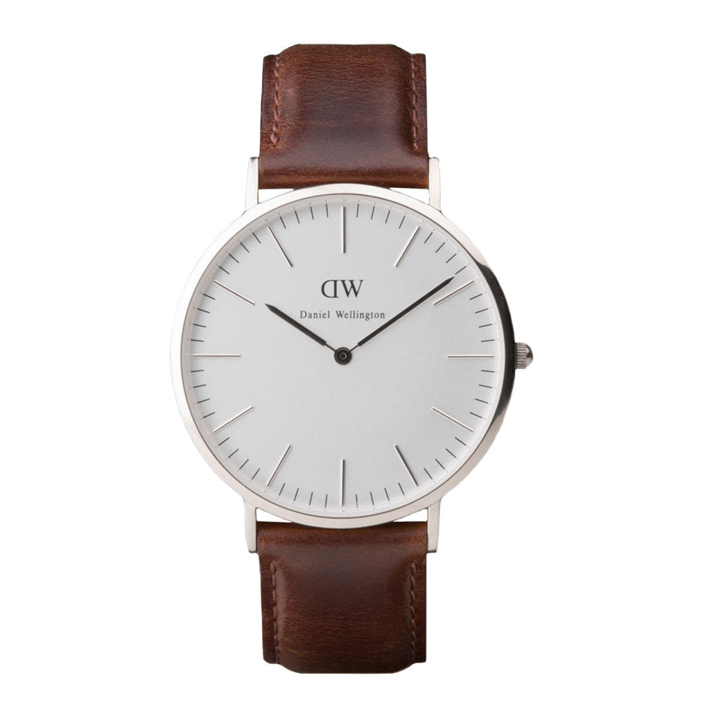 Daniel Wellington Bristol Watch - Silver