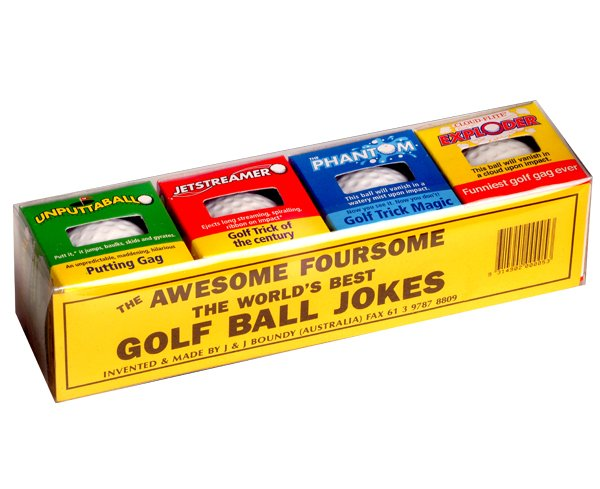 Trick Golf Balls - Set of 4
