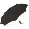 ShedRain Boxed Wooden Auto Open Umbrella - Black