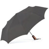 ShedRain Boxed Wooden Auto Open Umbrella - Charcoal