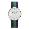 Daniel Wellington Warwick Watch - Silver