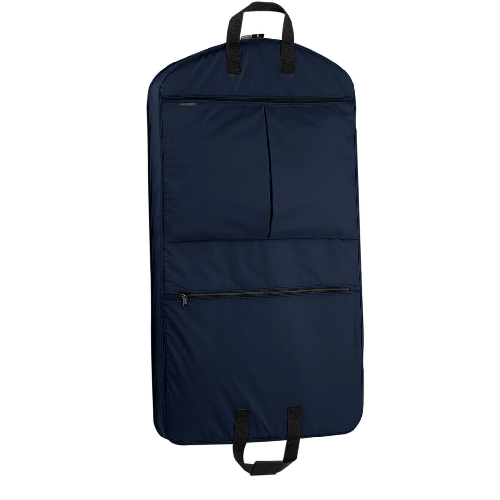 "Wally Bags 40"" Garment Bag with Pockets - Navy"