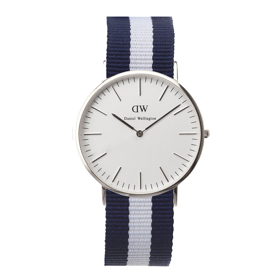 Daniel Wellington Glasgow Watch - Silver