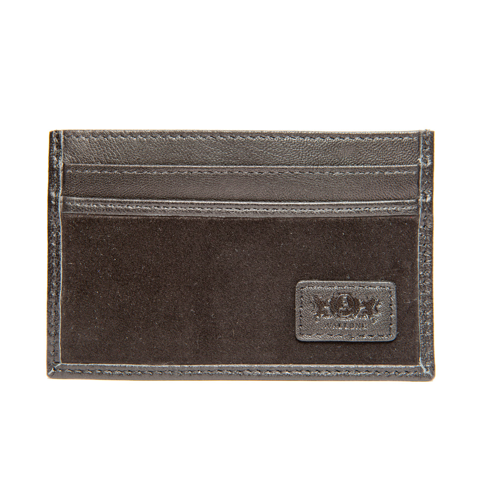 Avallone Slim Card Carrier - Black