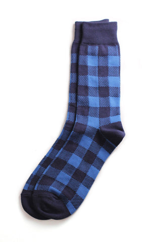 Richer Poorer - Breadwinner Navy Blue Socks