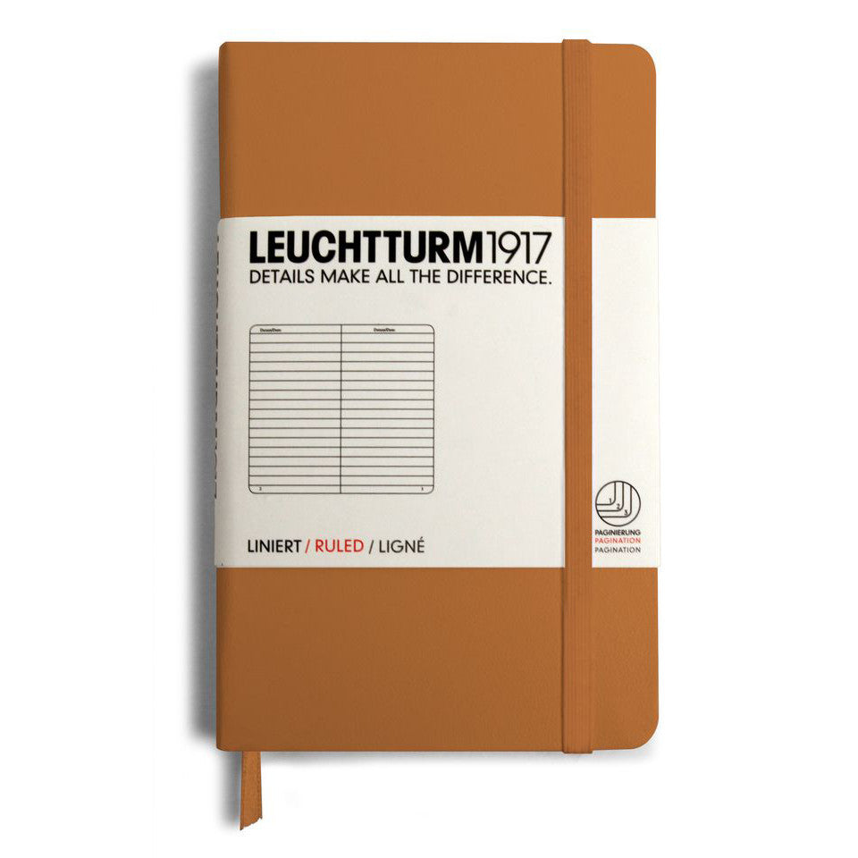 Leuchtturm1917 Ruled Notebook - Caramel