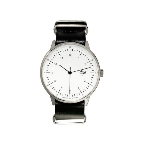 Cheapo Watch Harold - Black/White/Silver