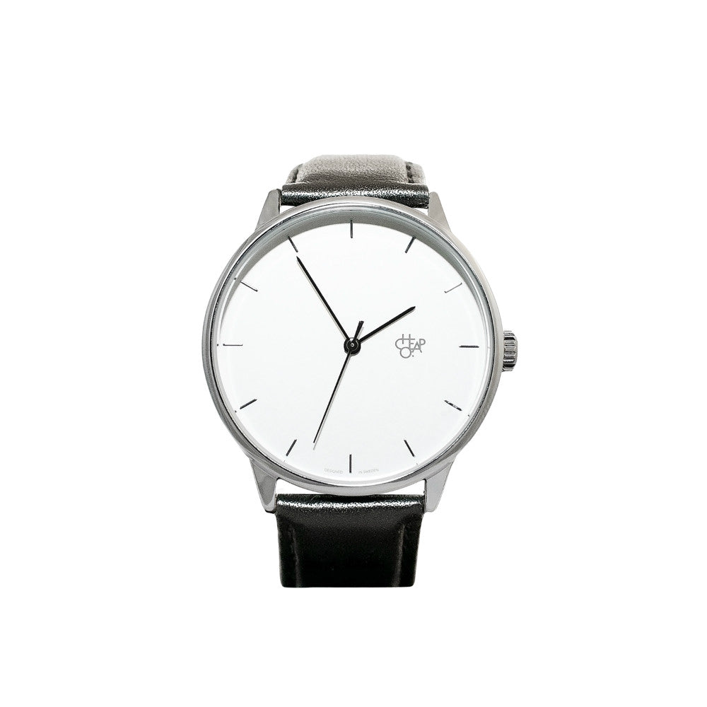 Cheapo Watch Khorshid Black White Silver