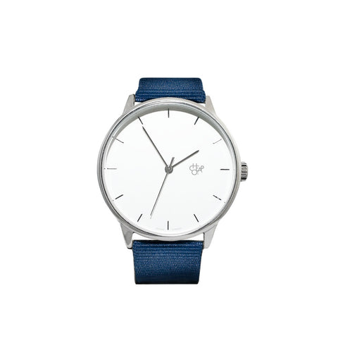 Cheapo Watch Khorshid - Navy/White/Silver