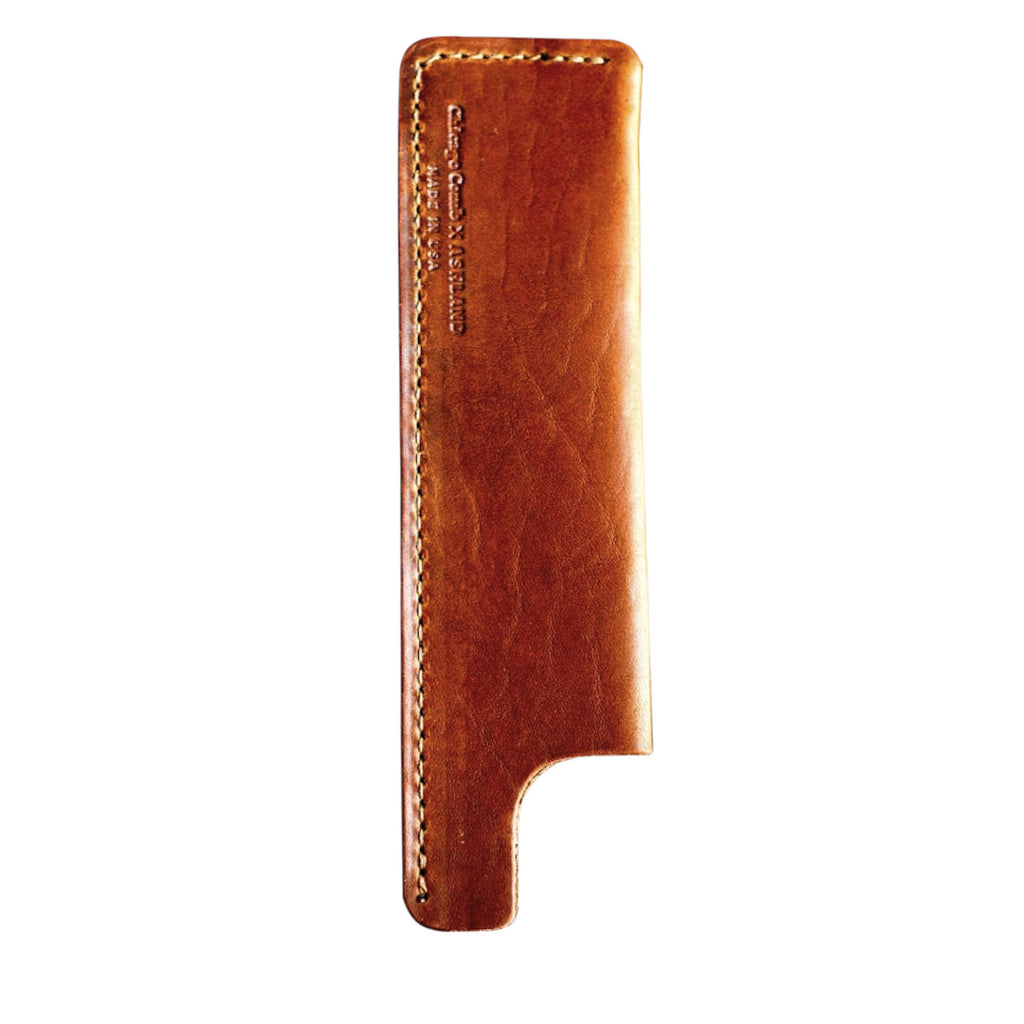 Chicago Comb Co. - Tan Horween Leather Sheath