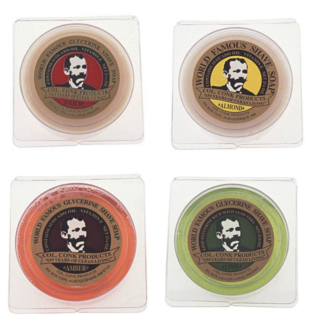 Colonel Conk's World Famous Shaving Soap