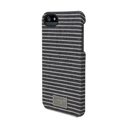 Hex Core Case for iPhone 5 - Black/Grey Stripe