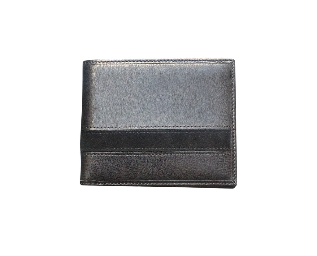 Avallone Executive Billfold Wallet - Black