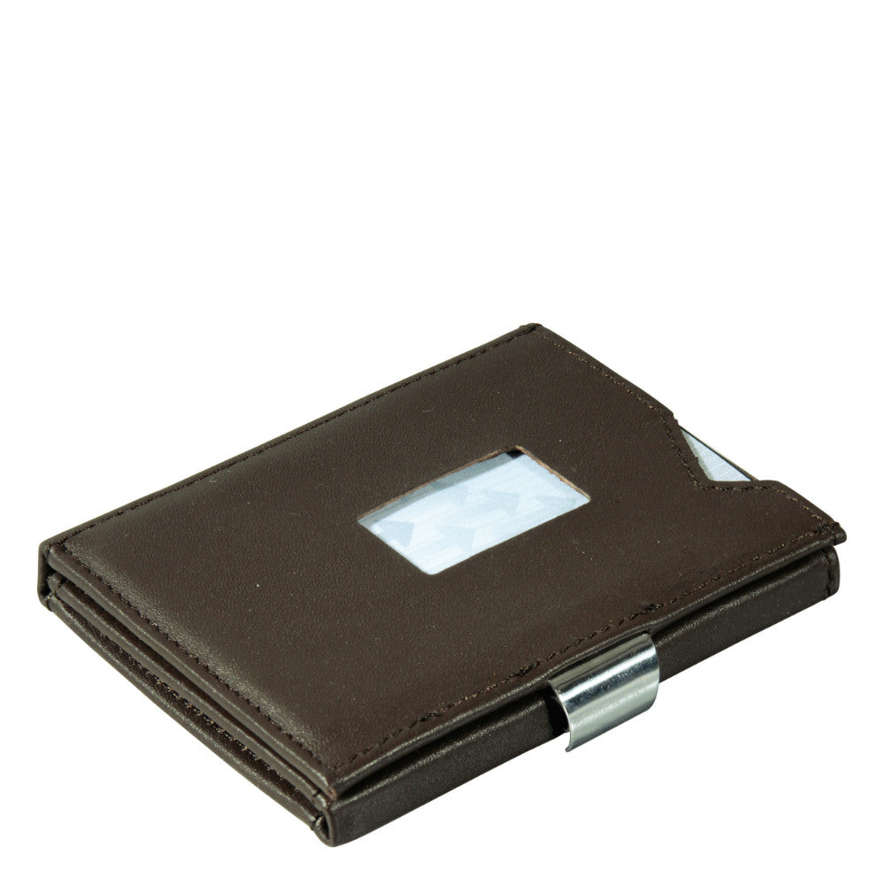 Exentri Trifold Wallet - Brown