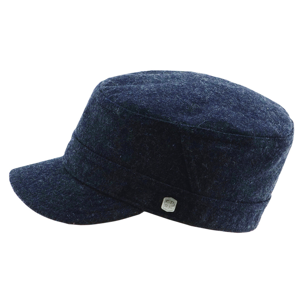 The Randle Cap - Heather Black