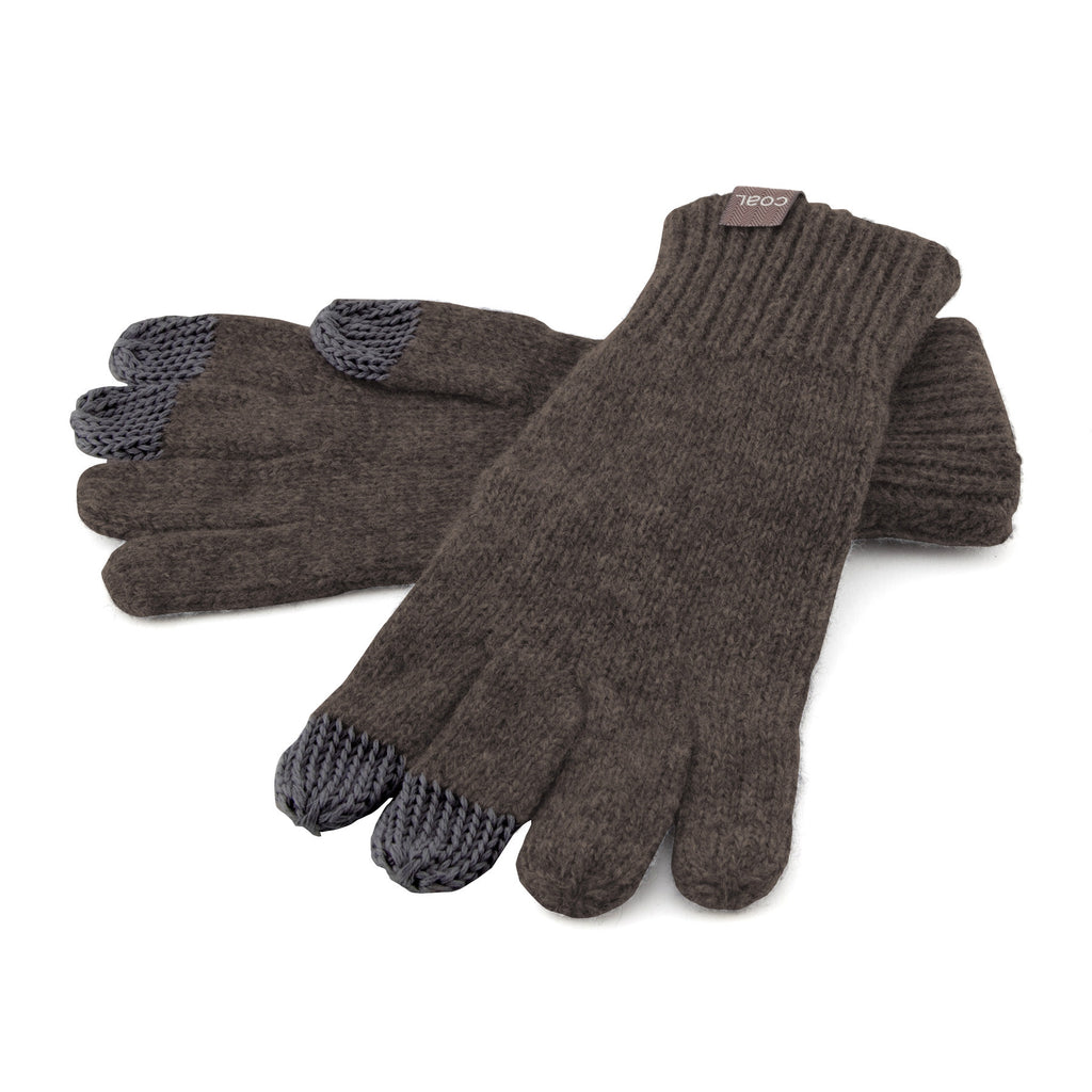 The Randle Touchscreen Glove - Heather Brown