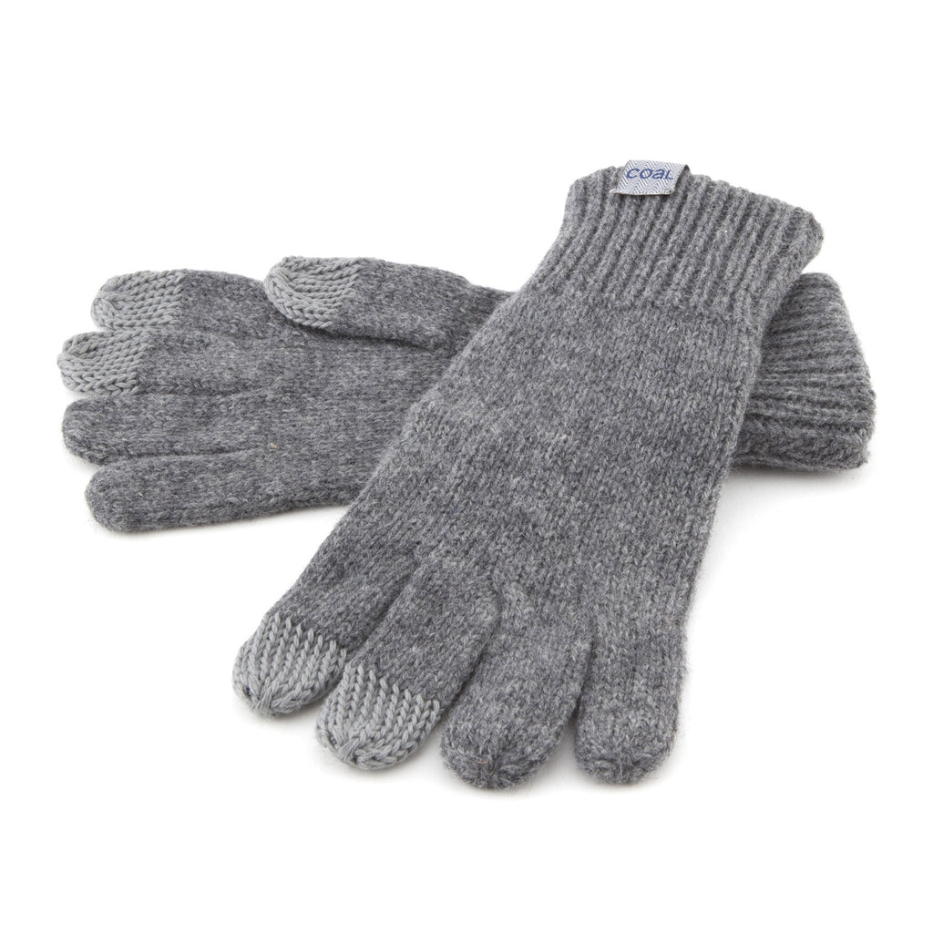 The Randle Touchscreen Glove - Heather Grey