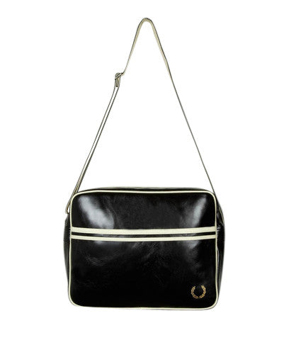 Fred Perry Shoulder Bag - Black & Ecru