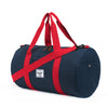 Herschel Supply Sutton Duffel Bag - Navy & Red