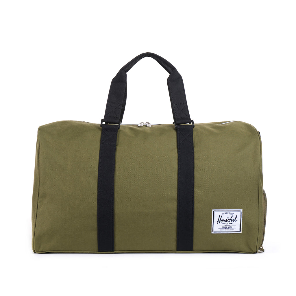 b7e6004387 Herschel Supply Novel Duffel Bag - Army   Black. Enlarge Image