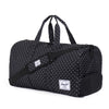 Herschel Supply Novel Duffel Bag - Black Polka Dots
