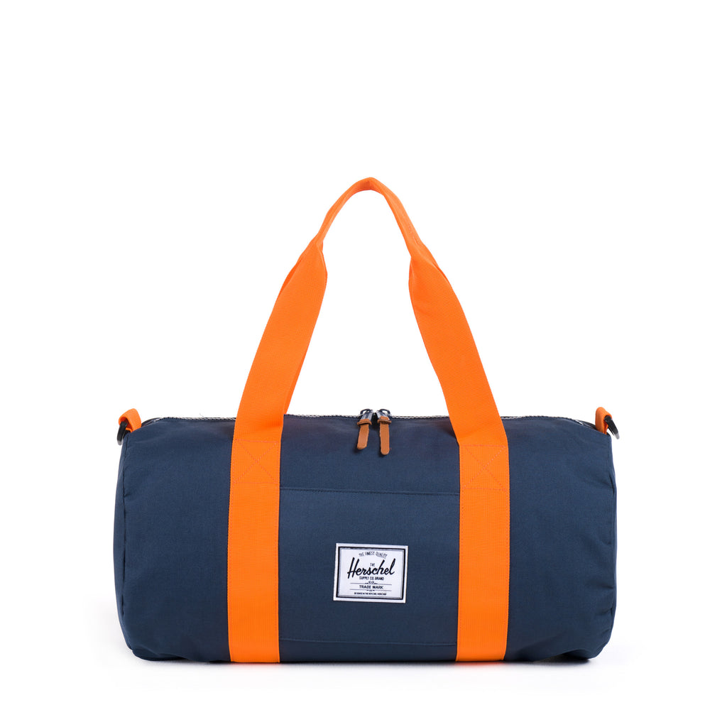 Herschel Supply Sutton Mid-Volume Duffel - Navy/Mandarin Orange