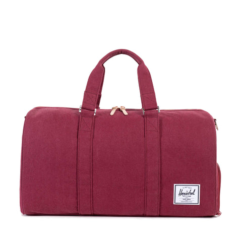 Herschel Supply Novel Canvas Duffel Bag - Windsor Wine
