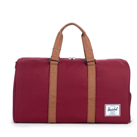 Herschel Supply Novel Duffel Bag - Windsor Wine & Tan