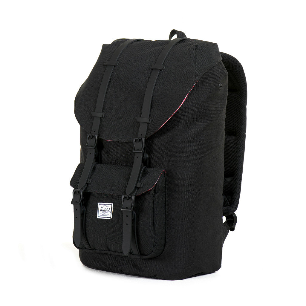 Herschel Supply Little America Backpack Black & Black Rubber