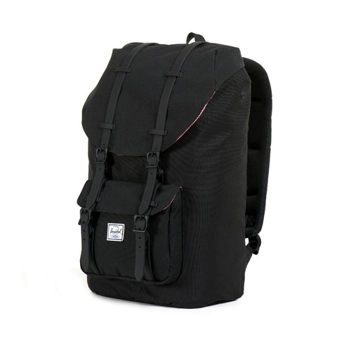 Herschel Supply Little America Backpack - Black & Black Rubber