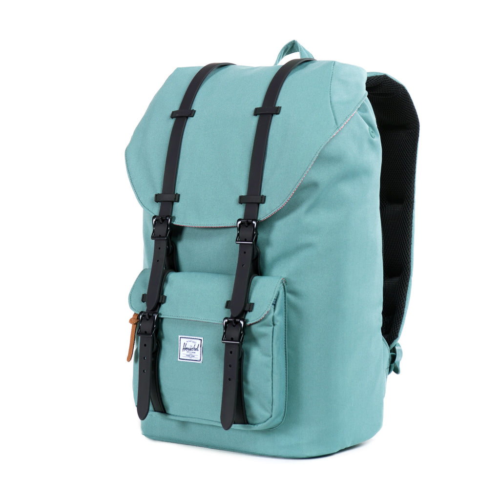 Herschel Supply Little America Backpack - Seafoam & Black Side