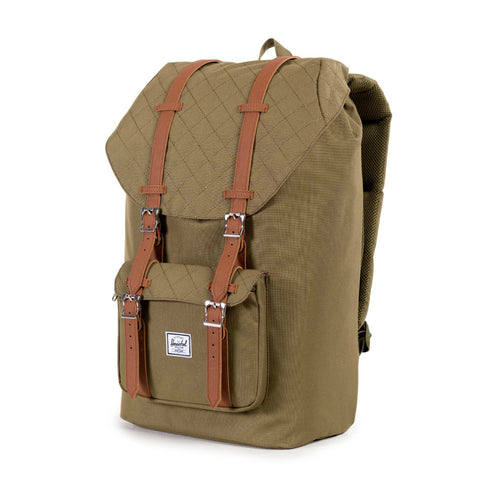 Herschel Supply Little America Backpack - Army Quilted