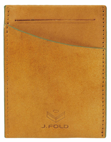 Clearcut Front Pocket Wallet - Brown