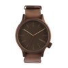 Komono Magnus Bronze Brown Watch