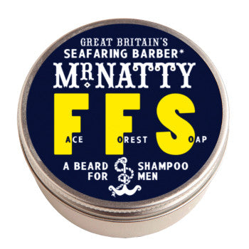 Mr Natty Face Forest Soap Beard Shampoo
